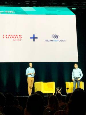 MakeMeReach and Havas at Facebook Global Partner Summit