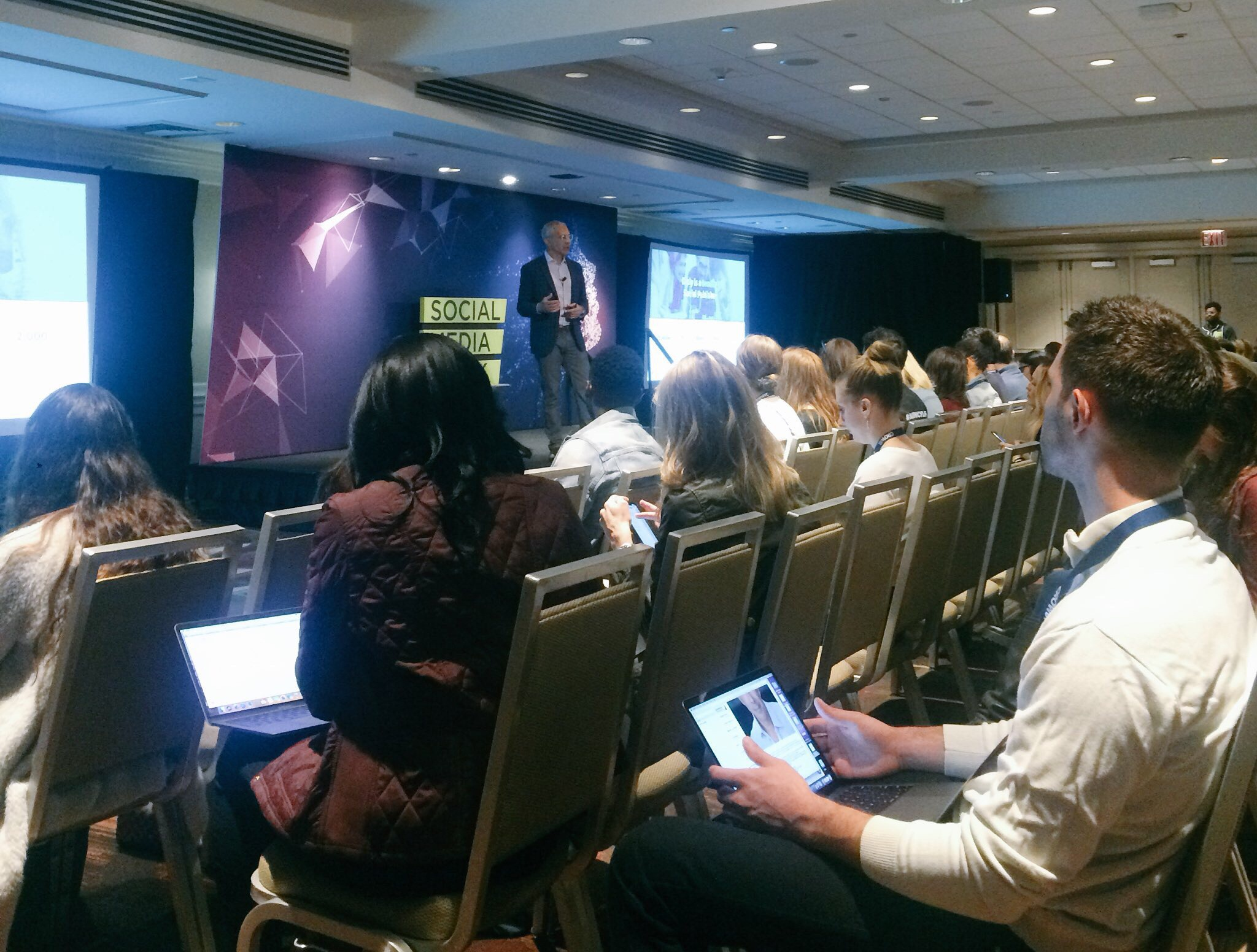 Dan Lagani, President & Chief Revenue Officer at Diply, at SMWNYC