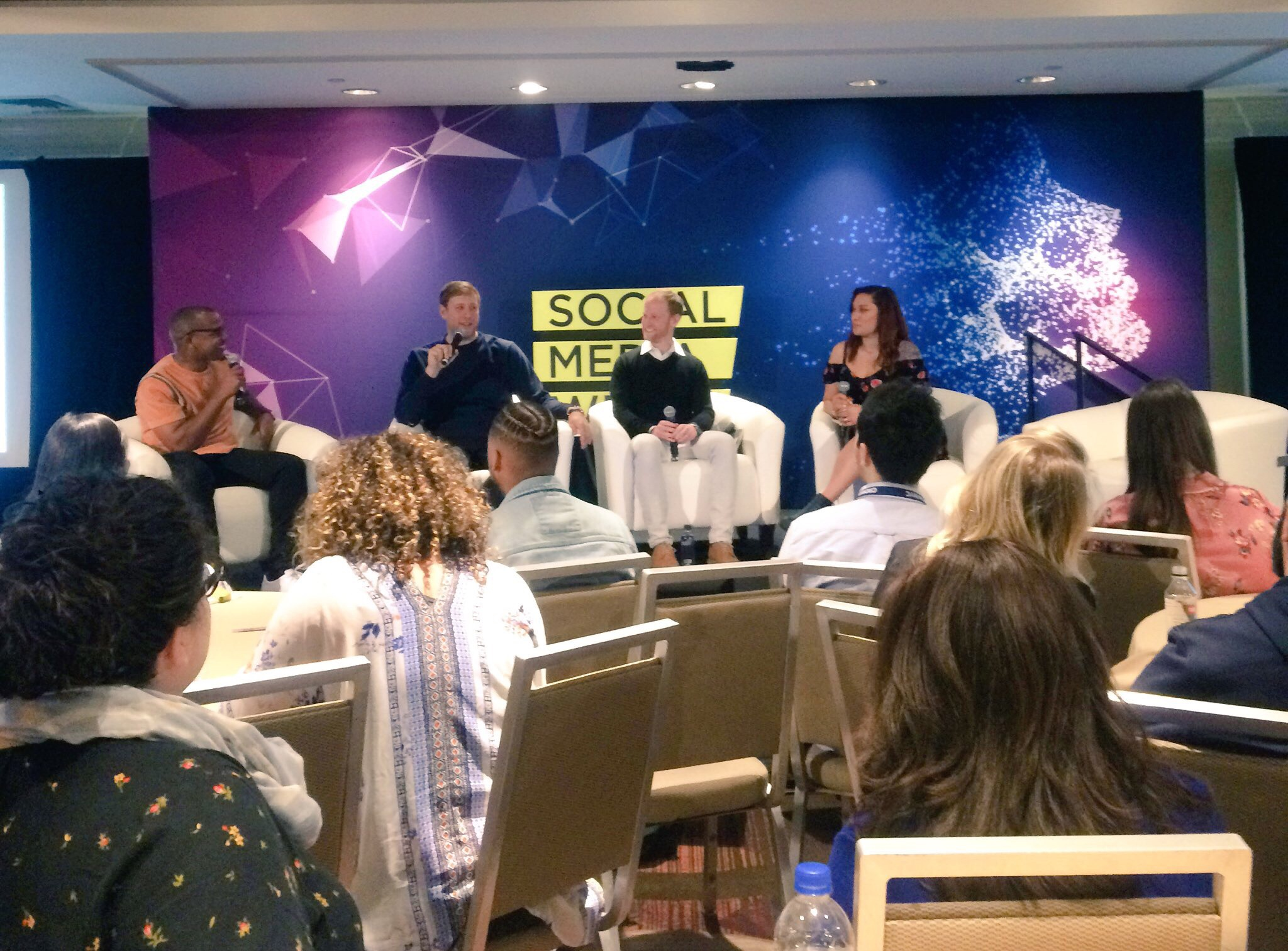 Panel discussion, called 'How Instagram Became The Music Industry's Go-To Social Platform