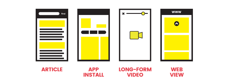 4 formats web snap