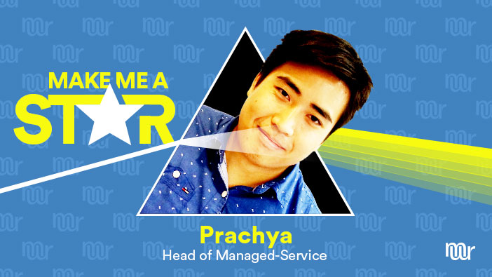 MakeMeReach-MakeMeAStar-Prachya-Head-of-Managed-Service-Interview-Header