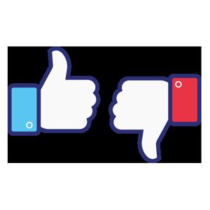 Positive Negative Feedback Facebook Metric