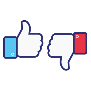 Positive Negative Feedback Facebook Metric