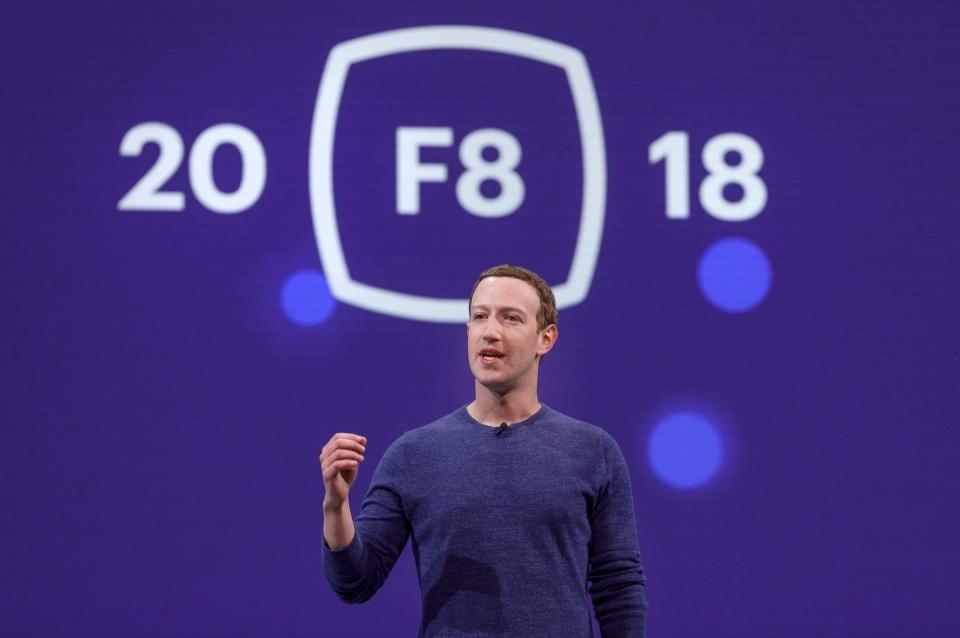 Mark Zuckerberg at F8 2018