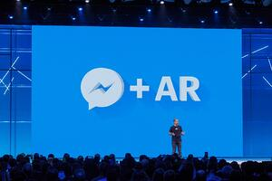 Facebook Messenger and AR at F8 2018