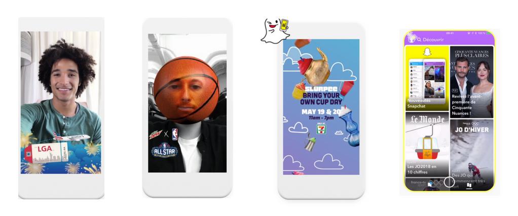 snapchat ad formats